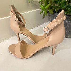 BP. Nude Stiletto Heel Slingback Sandal